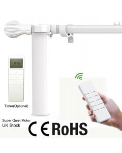 Electric Curtain Poles with Remote