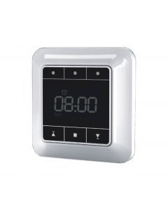 Grey/Black Wireless RF Timer suitable for HC smart curtain tracks electric window opener